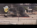 Сирия. Попадание в танк, расстрел танкистов (+18)